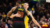 LeBron James et Lonzo Ball
