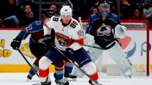 Panthers 1 - Avalanche 2