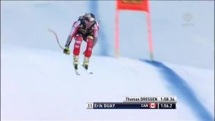 Erik Guay mal en point après une 32e place à Val Gardena