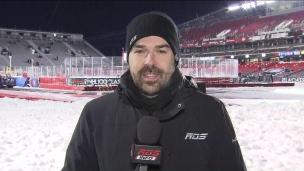 Un froid glacial pour le match CH-Sens