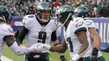 Nick Foles et Alshon Jeffery