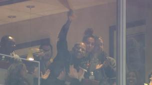 Shazier présent pour encourager les Steelers