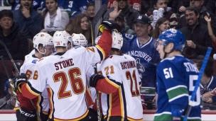 Flames 6 - Canucks 1