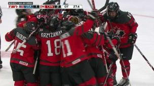 Canada 2 - États-Unis 1 (Prolongation)