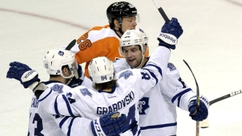 Maple Leafs 4 - Flyers 2