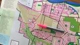 Une carte de la ville de La Prairie
