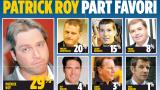 Patrick Roy,Vincent Damphousse,Julien Brisebois,Pierre Lacroix,Pat brisson,André Savard,Marc Bergevin