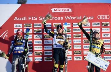 Un premier podium pour Sherret en ski cross