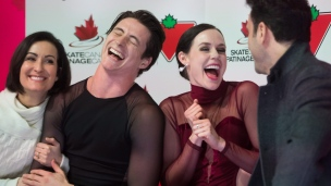 Un 8e titre national pour Virtue et Moir