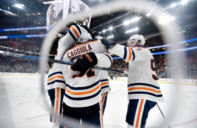Oilers : gain en prolongation avant le congé
