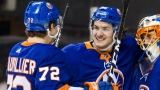 Anthony Beauvillier et Mathew Barzal