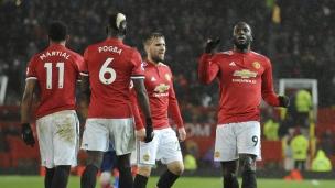 Manchester United 3 - Stoke City 0