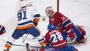 Islanders 5 - Canadiens 4 (prolongation)