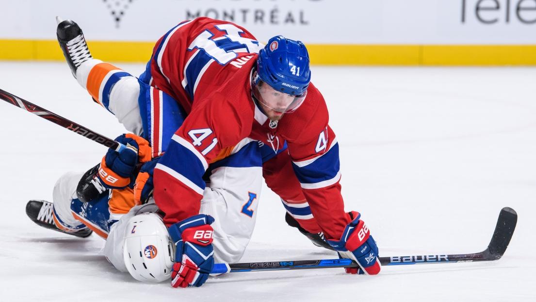 L'attaquant du Canadien Paul Byron a été opéré à l'épaule droite