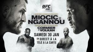 En route vers l'UFC 220