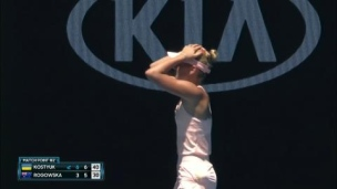 À 15 ans, Kostyuk atteint le 3e tour!