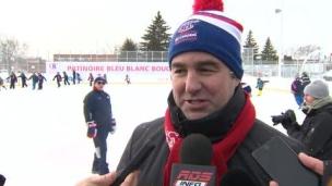 Trois-Rivières reçoit la 10e patinoire communautaire du CH