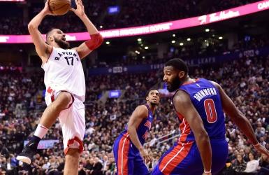 NBA : Toronto cause un autre revers à Detroit