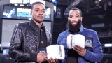 Errol Spence fils et Lamont Peterson