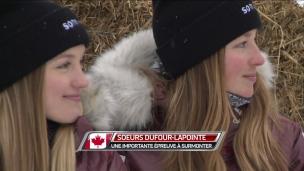 Les soeurs Dufour-Lapointe se remettent d'une lourde épreuve