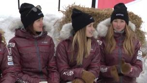 Les soeurs Dufour-Lapointe se confient à l'aube des Jeux