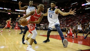 Timberwolves 98 - Rockets 116