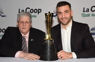 Création du trophée Patrice Bergeron