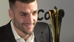 « C'est vraiment spécial avoir un trophée à son nom »
