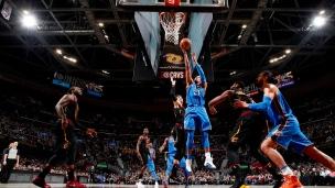Thunder 148 - Cavaliers 124