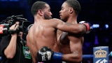 Lamont Peterson et Errol Spence fils
