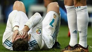 Le nez de Ronaldo paye le prix pour marquer!
