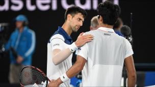 Chung surprend un Djokovic affaibli