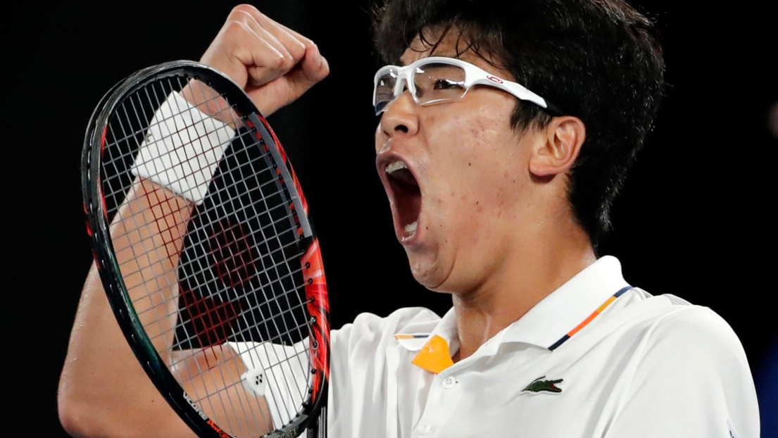 Rien à faire pour Djokovic face à Hyeon Chung — Open d'Australie