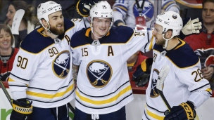 Sabres 2 - Flames 1 (Prolongation)