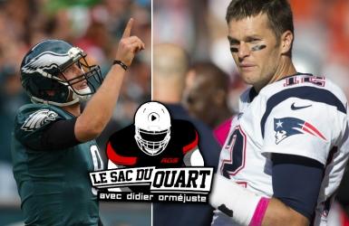 Balado, les Patriots et les Eagles ont rendez-vous au Super Bowl