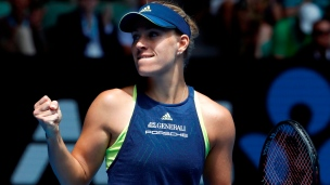 Angelique Kerber atteint le carré d'as