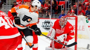 Flyers 3 - Red Wings 2 (Prol.)