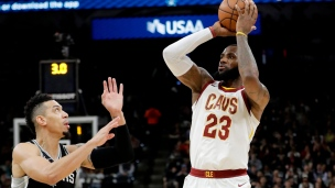 Cavaliers 102 - Spurs 114