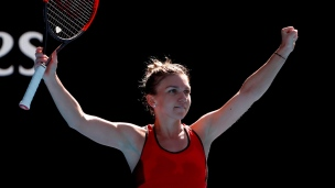 Halep rejoint Kerber en demi-finale