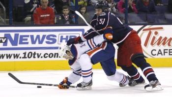 Oilers 3 - Blue Jackets 4 (Fus.)