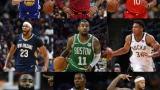 Les partants du Match des Étoiles de la NBA