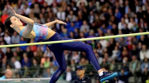 Mariya Lasitskene s'envole à 2,05 m à Zurich
