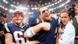 Tom Brady et Bill Belichick lors de leur première conquête du Super Bowl