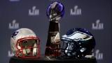 Les Patriots affrontent les Eagles au Super Bowl