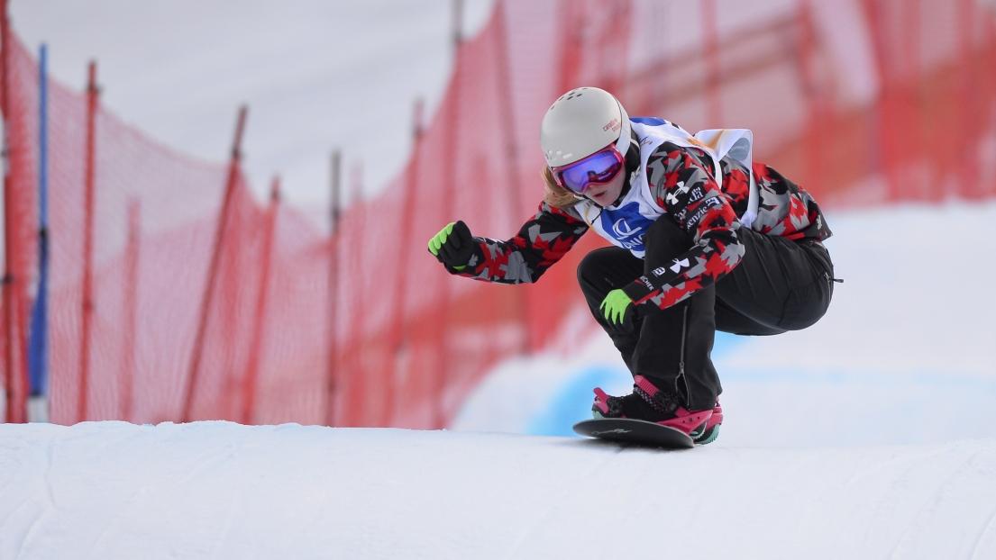 Snowboard Cross Un Premier Podium En Carri 232 Re Pour La Canadienne Zoe Bergermann Rds Ca