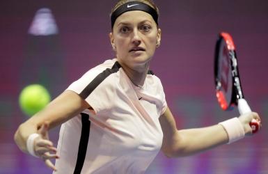 Une neuvième victoire de suite pour Kvitova