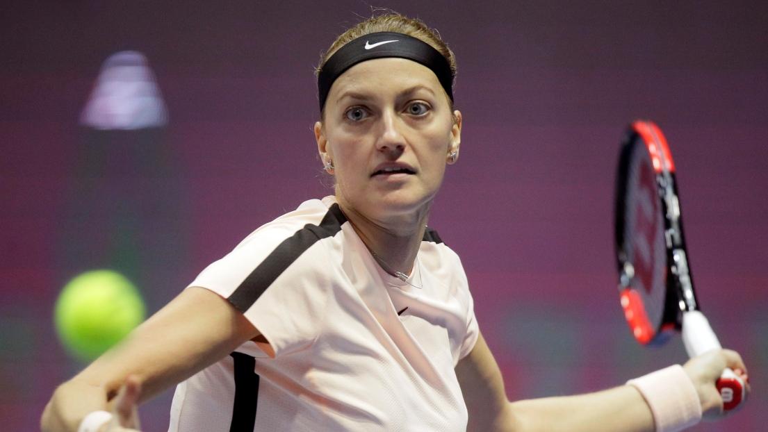 Kvitova réussit sa rentrée à Prague