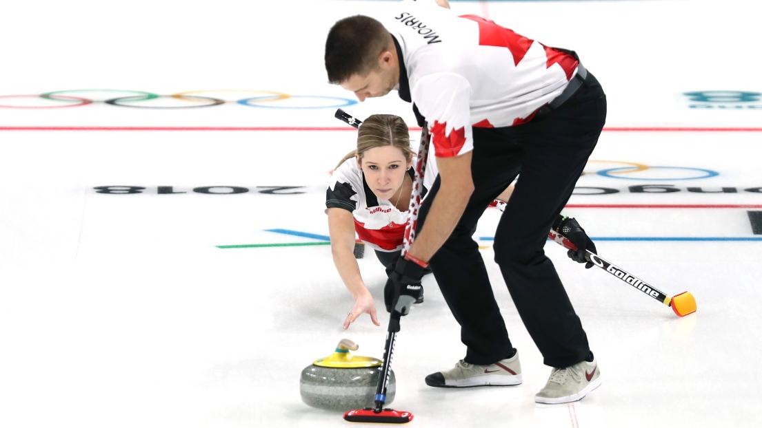 Jeux olympiques de Pyeonchang: le Canada s'incline au curling mixte