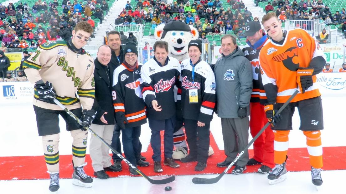 Drummondville midget hockey