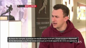 Johnny Manziel se confie